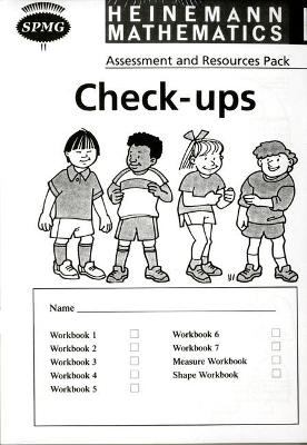 Heinemann Maths 1: Check-up Booklets (8 Pack) by Scottish Primary Maths Group SPMG