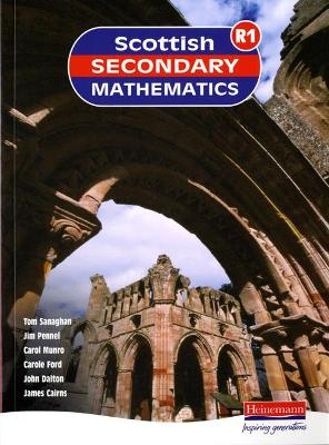 Scottish Secondary Maths Red 1 Student Book by Scottish Secondary Mathematics Group