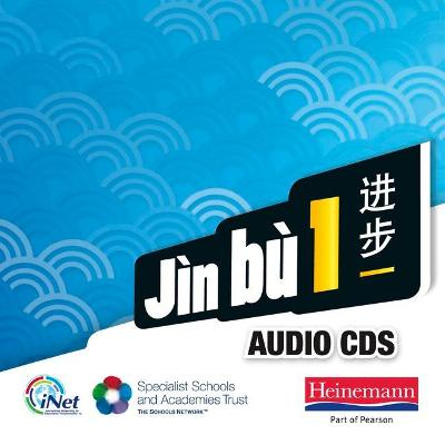 Jin bu 1 Audio CD Pack (11-14 Mandarin Chinese) by Yu Bin, Xiaoming Zhu, Katharine Carruthers