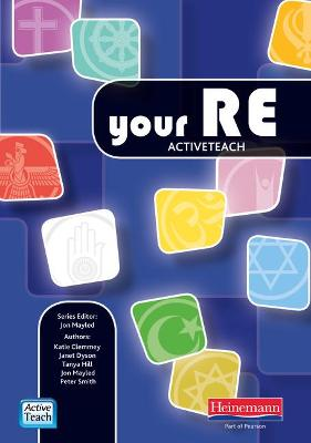 Your RE ActiveTeach CDROM by Jon Mayled