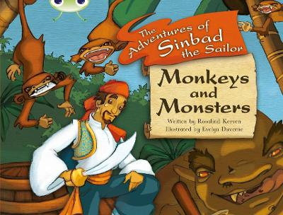 BC White A/2A Monkeys and Monsters by Rosalind Kerven