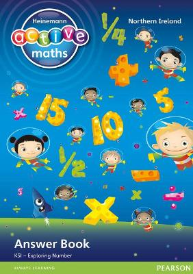 Heinemann Active Maths Northern Ireland - Key Stage 1 - Exploring Number - Answer Book by