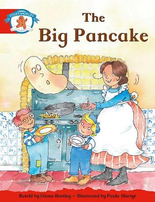 Literacy Edition Storyworlds Stage 1, Once Upon A Time World, The Big Pancake by Diana Bentley