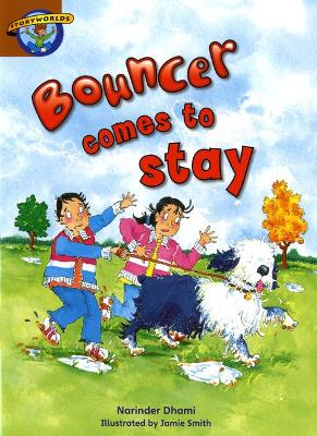 Storyworlds Bouncer Comes to Stay by Narinder Dhami