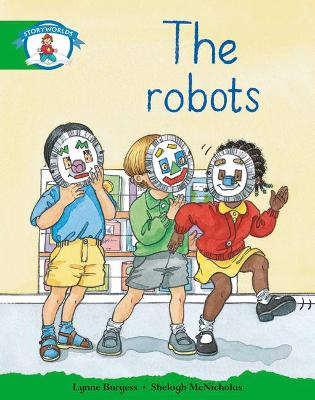 Literacy Edition Storyworlds Stage 3: Robots by