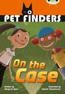 BC Grey B/4C Pet Finders on the Case by Margaret Ryan