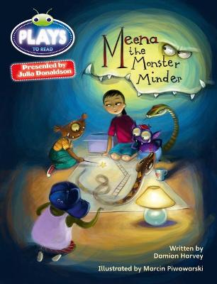 BC JD Plays Grey/3A-4C Meena the Monster Minder by Damian Harvey