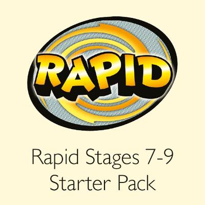 Rapid Stages 7-9 Starter Pack by Alison Hawes, Celia Warren, Benjamin Hulme-Cross