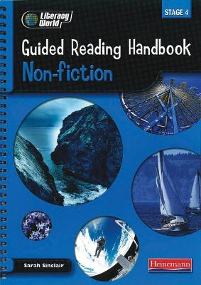 Literacy World Stage 4: Non-Fiction Guided Reading Handbook Framework Edition by