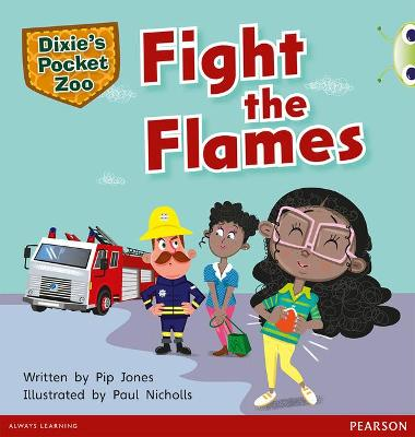 Bug Club Green B Dixie's Pocket Zoo: Fight the Flames by Pip Jones