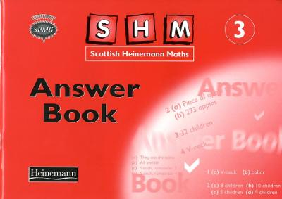 Scottish Heinemann Maths 3, Answer Book by