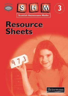Scottish Heinemann Maths 3: Resource Sheets by