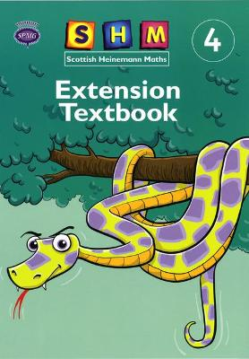 Scottish Heinemann Maths 4: Extension Textbook Single by