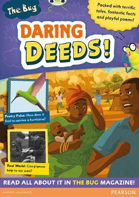 Bug Club Pro Guided Y4 Daring Deeds by Trish Cooke, Debora Pearson, Ellie Irving, Narinder Dhami