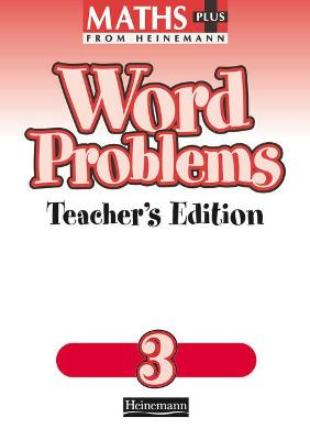 Maths Plus Word Problems 3: Teacher's Book by