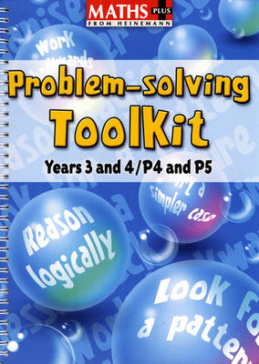 Maths Plus Problem Solving Toolkit: Years 3-4/P4-5 by