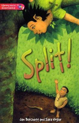 Literacy World Comets Stage 2 Novel Split by Jan Burchett, Sara Vogler