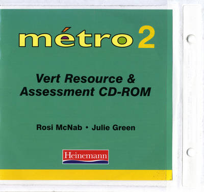 Metro 2 Vert Resource and Assessment File with CD-ROM by