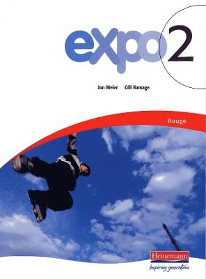 Expo 2 Rouge Pupil Book by Gill Ramage, Jon Meier