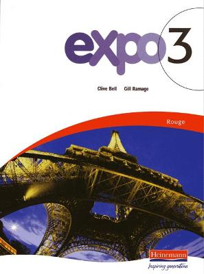Expo 3 Rouge Pupil Book by Clive Bell