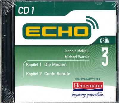 Echo 3 Grun CD (Pack of 3) by