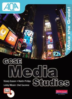 AQA GCSE Media Studies Student Book with ActiveBook CD-ROM by Mandy Esseen