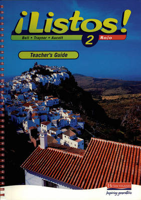 Listos! 2 Rojo Teacher's Guide by Clive Bell