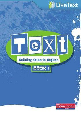Text: Building Skills in English 11-14 LiveText 1 by