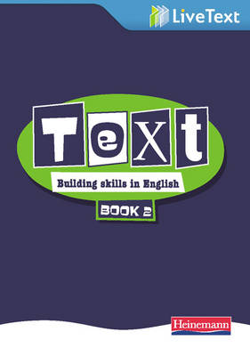 Text: Building Skills in English 11-14 LiveText 2 by