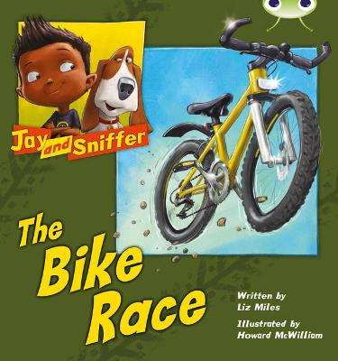 BC Blue (KS1) A/1B Jay and Sniffer: The Bike Race by Liz Miles