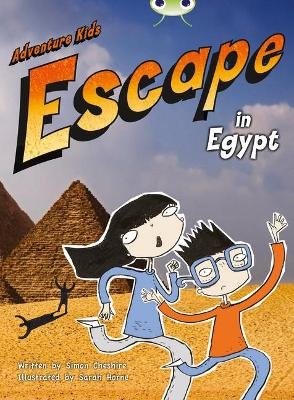 BC Orange B/1B Adventure Kids: Escape in Egypt by Simon Cheshire
