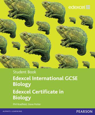 Edexcel International GCSE Biology Student Book with ActiveBook CD by Philip Bradfield, Steve Potter