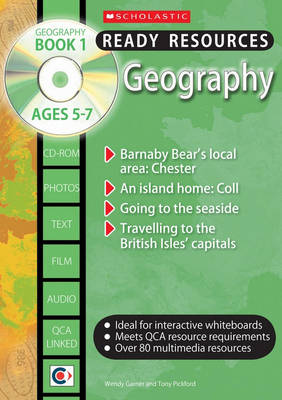 Geography Book 1 and CD by Wendy Garner, Tony Pickford