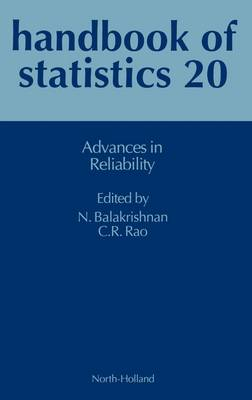 Advances in Reliability by C. Radhakrishna Rao, N. Balakrishnan