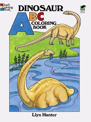 Dinosaur ABC Coloring Book by Llyn Hunter