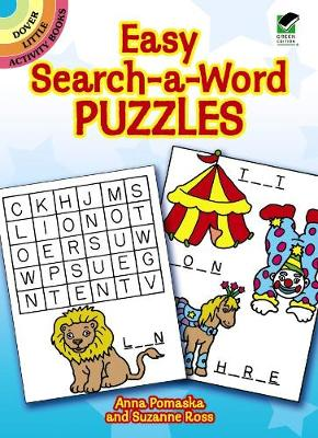 Easy Search-a-Word Puzzles by Anna Pomaska