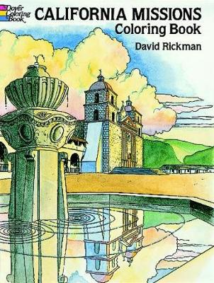California Missions Coloring Book by David Rickman