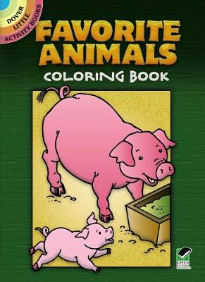 Favorite Animals Coloring Book by Cathy Beylon