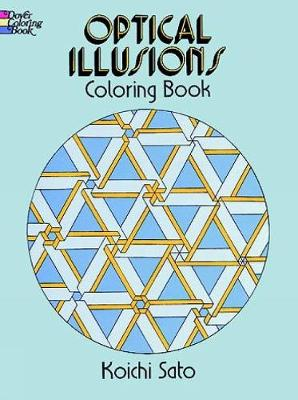 Optical Illusions Coloring Book by Koichi Sato