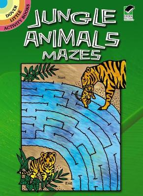 Jungle Animals Mazes by Patricia Wynne