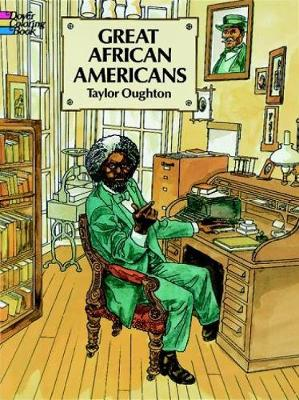 Great African Americans Coloring Book by Taylor Oughton