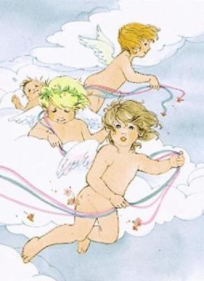 Angel Notebook by Barbara Steadman