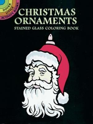 Christmas Ornaments Stained Glass Coloring Book by Marty Noble