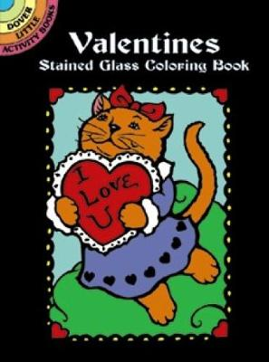 Valentines Stained Glass Coloring Book by Marty Noble