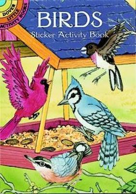 Birds Sticker Activity Book by Cathy Beylon
