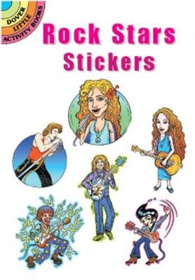 Rock Stars Stickers by Eric Gottesman