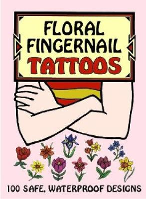 Floral Fingernail Tattoos by Charlene Tarbox