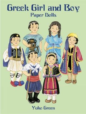 Greek Girl and Boy Paper Dolls by Yuko Green