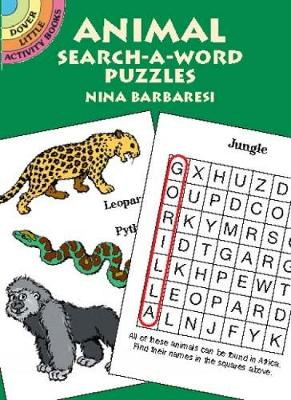 Animal Search-a-Word Puzzles by Nina Barbaresi
