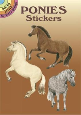 Ponies Stickers by John Green